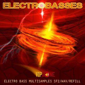 Electro Basses Samples Wav sf2 sxt Reason Refill