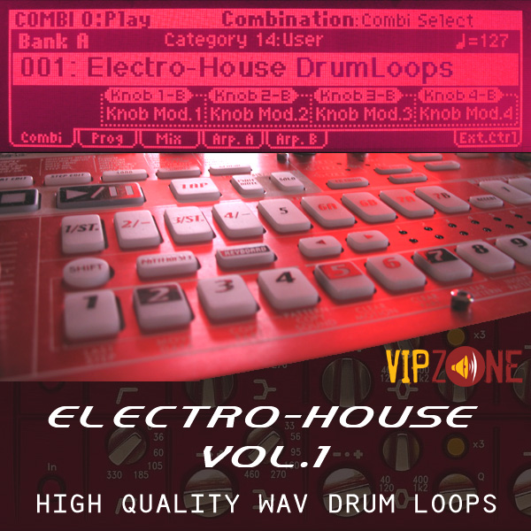 Electro House Drum Loops