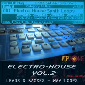 Electro House Synth Loops Wav Midi