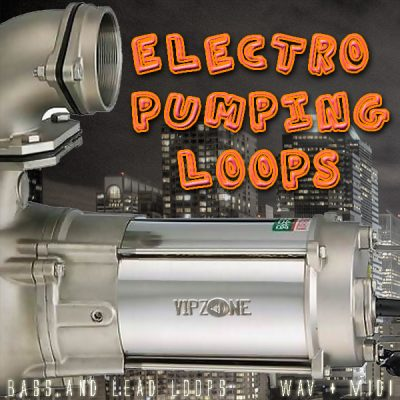 Electro Pumping Loops Lead und Bass WAV Midi Loops