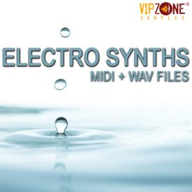 Electro Synths Leads Midi Wav Loops