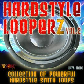 Hardstyle Looperz Vol. 2 Wav Midi Synth Lead Loops