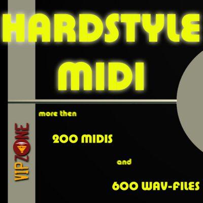 Hardstyle Leads Midi Wav Loops