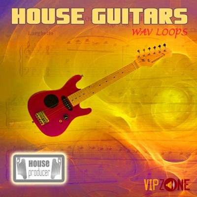 House Guitars Wav Loops