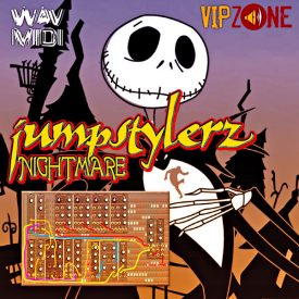 Jumpstylerz Nightmare Midi Wav Kick Lead Synth Loops