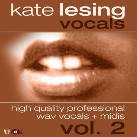 Kate Lesing Vocals Vol. 2 Acapella Vocals