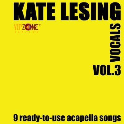 Kate Lesing Vocals Vol. 3 Dance Trance Acapella Vocal Songs