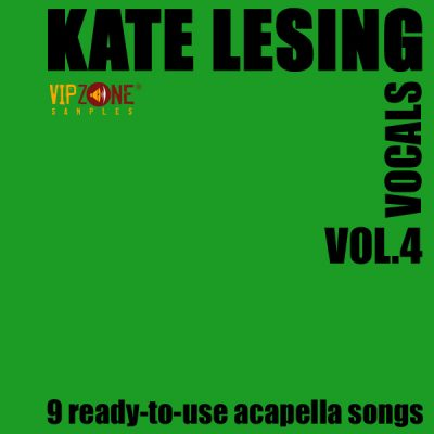 Kate Lesing Vocals Vol. 4 Acapella Vocals Dance Trance