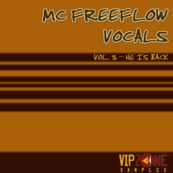 MC Freeflow Vocals Vol. 3 MC Acapella Vocals