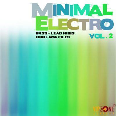 Minimal Electro Vol. 2 Bass Lead Midi Wav Loops