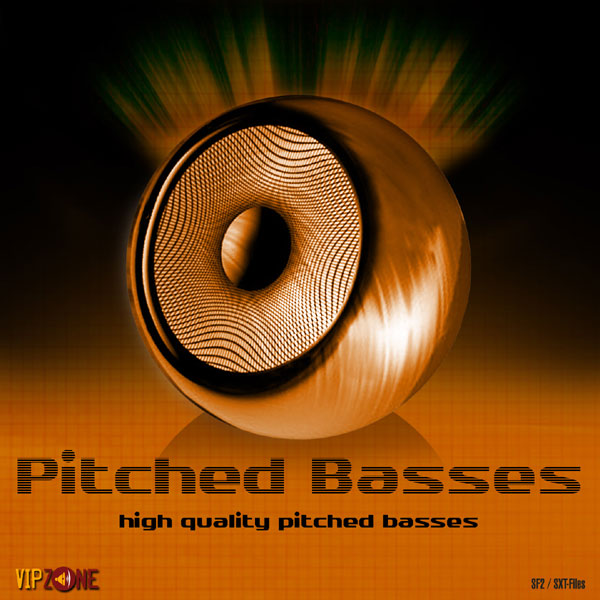 Pitched Basses SF2 WAV Samples