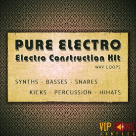 Pure Electro Construction Kit Wav Loops