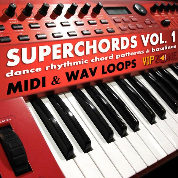 Superchords Vol. 1 Midi WAV Chords