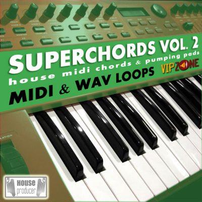 Superchords Vol. 2 Midi WAV Chords Pads