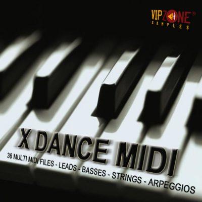 X Dance Midi Multi Midi Leads Basses Strings Melodies Arpeggios